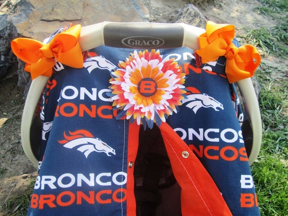 Broncos Car Seat Covers