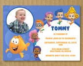 Bubble Guppies Invitation Personalized Birthday