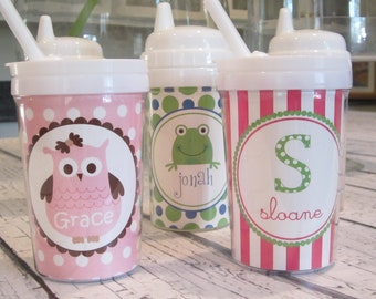 Personalized Kids Sippy Cups--Any Simply Stella Design