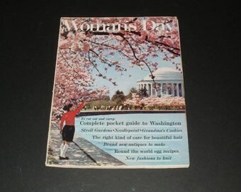 Vintage Womans Day Magazine April 1962 - Art-Scrapbooking-Vintage Ads-Collectible Paper Ephemera