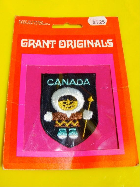 New In-Package Canada Souvenir Patch ESKIMO KISSES