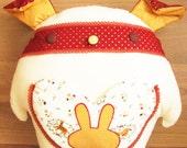 Bunny Bun Pillow