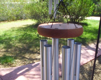 Large Tenor Windchime. Tuned and beautiful way to upgrade your outdoor area.