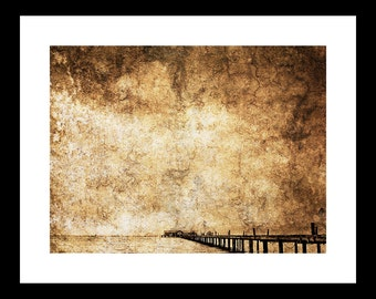 Pier 2 12X16 Fine Art Print
