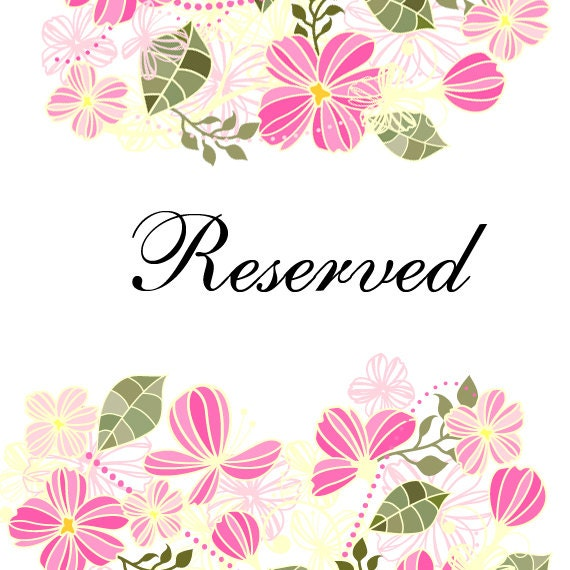 Reserved for Stacey (PRIORITY MAIL)