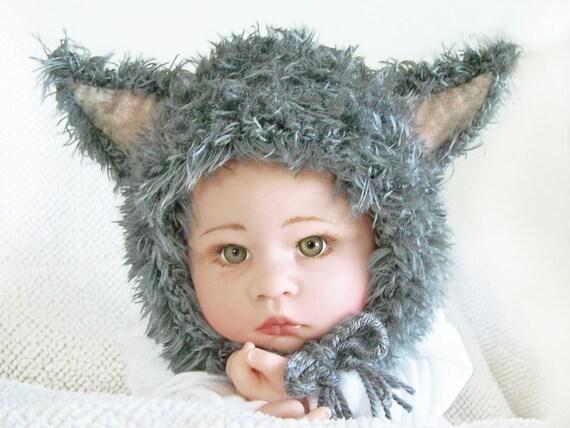 Baby's wolfie hat