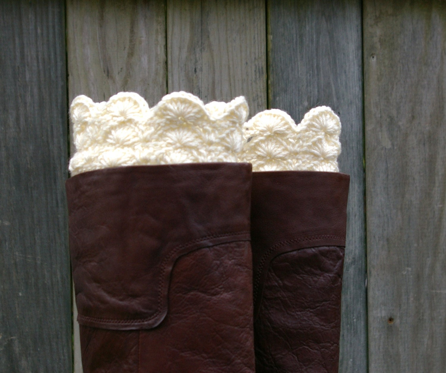 Crochet Boot Cuffs With Lace Pattern : Crochet Boot Cuffs Lace Boot Cuffs Knit Boot Toppers Boot