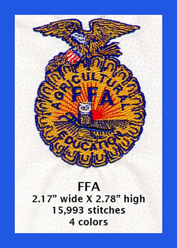 rare new farmers of america 10k gold key fraternity pin black