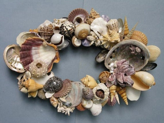 Colorful Shell Wreath (SW32)