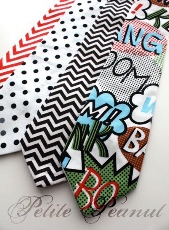Special Edition- BIG Guy Necktie Tie - SUPERHERO Collection - (Mens Size) - Custom Order