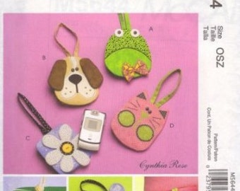 McCall's Craft Pattern M5644 Kids Cell Phone Cases