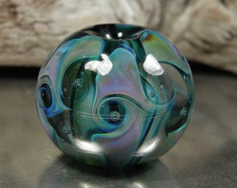 Silver Swirl Bead Tutorial
