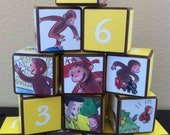 Curious George Building Blocks