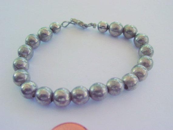 Vintage Sterling Bead Bracelet, Sterling Silver 925 Beads Vintage Jewelry Jewellery by Jewelsfromthepast