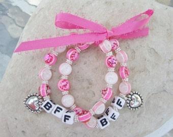 SET Best Friends Bracelets BFF or Sisters S007