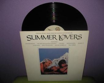SHOP CLOSING SALE Rare Vinyl Record Summer Lovers Original Soundtrack Lp 1982 Depeche Mode Heaven 17