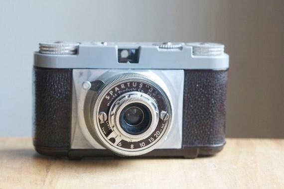 Camera, Vintage Spartus 35