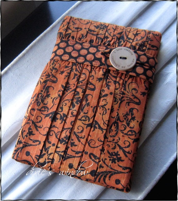 NEW FALL  Kindle 3G - Kindle Fire - Nook Tablet - Nook Color - Nook Simple Touch - Kindle Touch Book Style Case