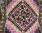 Flowers in Bloom - Queen Bedspread