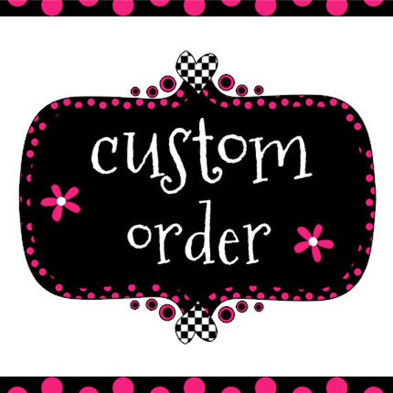 Custom order for Jinan