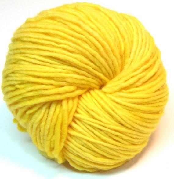 Handpainted yarn, worsted/ aran weight merino wool -  110 yards, 2.7 ounces/ 76 grams