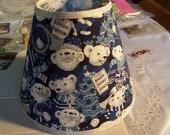 Custom for Hulabear Polar Bear Musical Instument Lampshade  Clip On