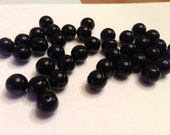 Deep colored Glass beads
