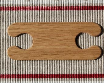 """Inkle weaving Tablet weaving shuttle """"Mighty"""" (oak). Ancient medieval viking art inkle loom weaving loom craft work SCA"""