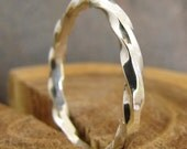 Argentium Sterling Silver Stacking Ring