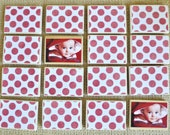 Wooden Toy- Custom Matching Game / Unique, Personalized Children's Gift-Birthdays / Stocking Stuffer