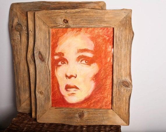 Reclaimed Farm Wood Artwork or Photo Frame 11x14