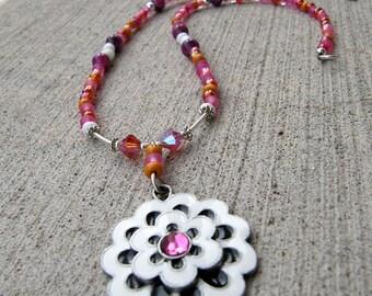 Fashion Flower necklace