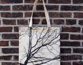 Autumn Morning Market Tote, in Black ON SALE