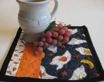 Halloween Mug Rugs or Personal Placemats