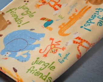Jungle Friends Receiving Blanket
