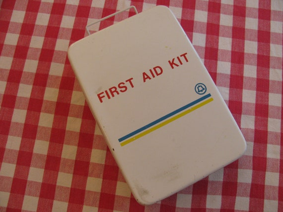 Bell Telephone Steel Industrial First Aid Kit