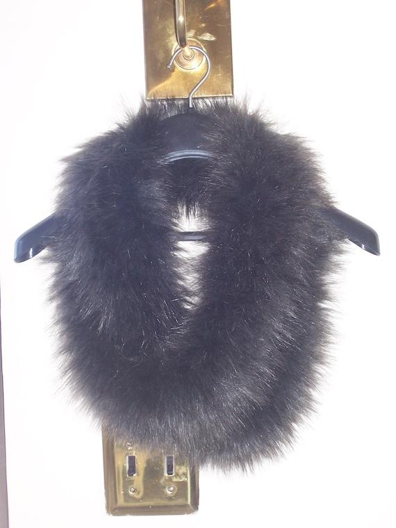 Classy Faux Fur Long Scarf