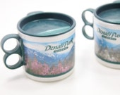 set of two Denali Park resorts children's sip cups