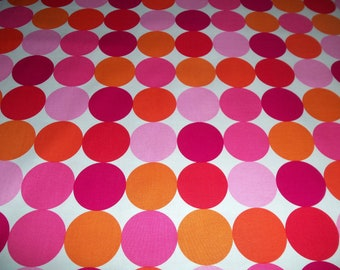 Michael Miller Disco Dot in Flamingo - 1/3 yard