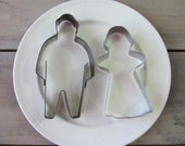Man and Woman Cookie Cutter