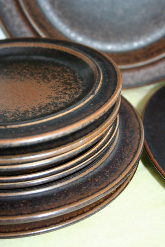 Group of Arabia plates in Ruska pattern