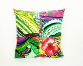 Frida Novelty Mexican Flowers throw Pillow