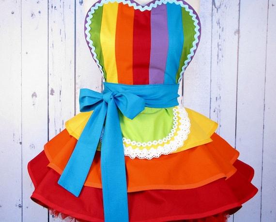 Fairy Rainbow Princess Ballerina Apron by Dots Diner