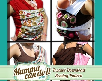 Baby Carrier Sewing Pattern Combo