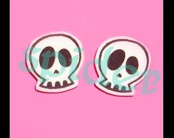 Skull  Studs Stud Skull Earrings Posts Skulls
