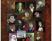 Renaissance Series, Set of 15 Art Postcards