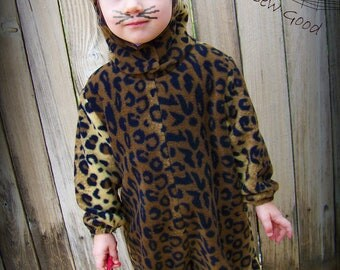 Leopard Costume for Toddler/Child