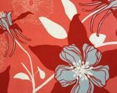 SALE! Designer Fabric - Joel Dewberry Deer Valley Collection, Columbine in Persimmon - 1 yard