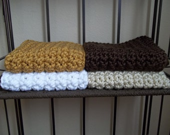 Newborn Photo Prop Blanket Newborn Baby Photography Prop chunky Blankets Pick your color