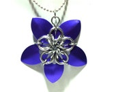 Scale Maille Pendant, Scalemaille & Chainmaille Jewellery, CHOOSE YOUR COLOR